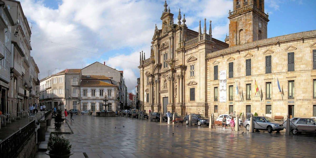 Plaza Mayor de Celanova