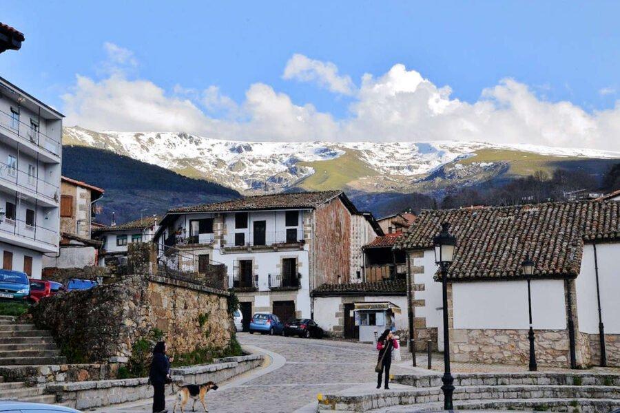 Vistas de Candelario en Salamanca
