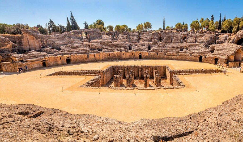 Anfiteatro Itálica en Santiponce