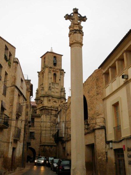 Cruz de la Plaza de Calaceite