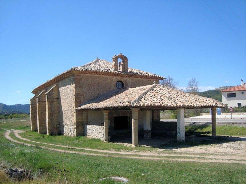 Ermita de San Roque en Rubielos de Mora