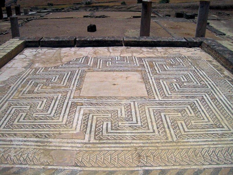Mosaico del Templo de Isis