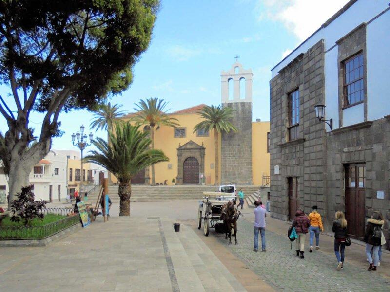 Plaza de la Libertad de Garachico