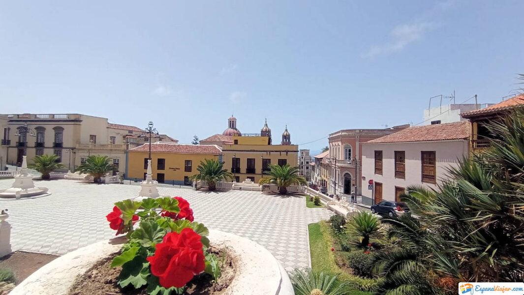 Plaza en La Orotava