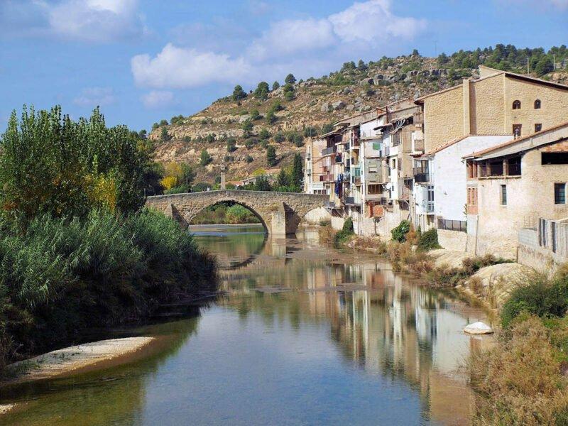 Río Matarraña en Valderrobres