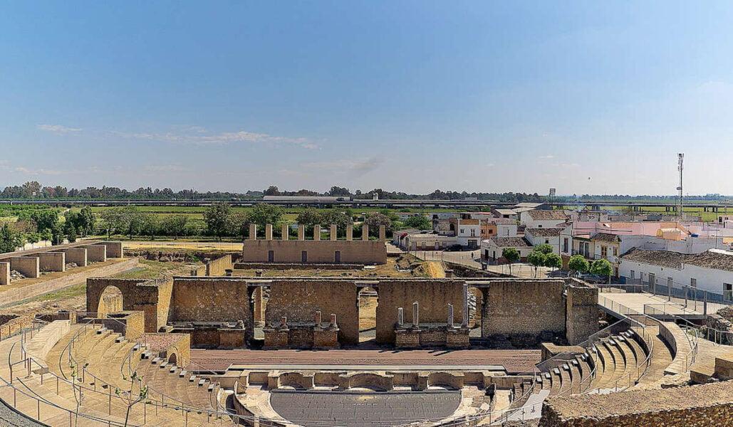 Teatro Románico de Itálica en Santiponce
