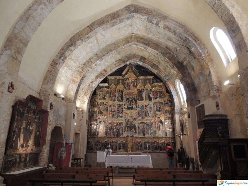 Ábside de la Iglesia de San Blas