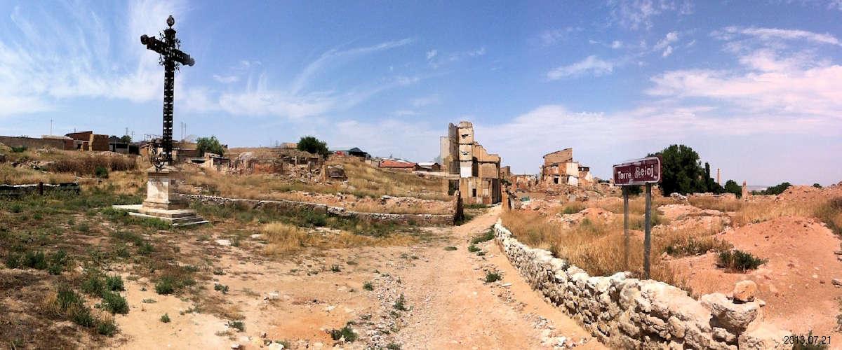 Belchite Viejo Ciudad Emblemática de la Guerra Civil Española