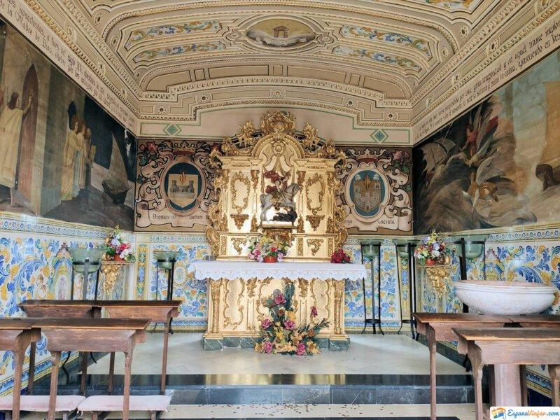 Capilla de Sant Jordi en el Castillo de Xátiva