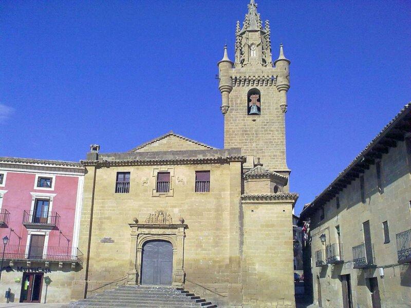 Colegiata de Santa María en Uncastillo
