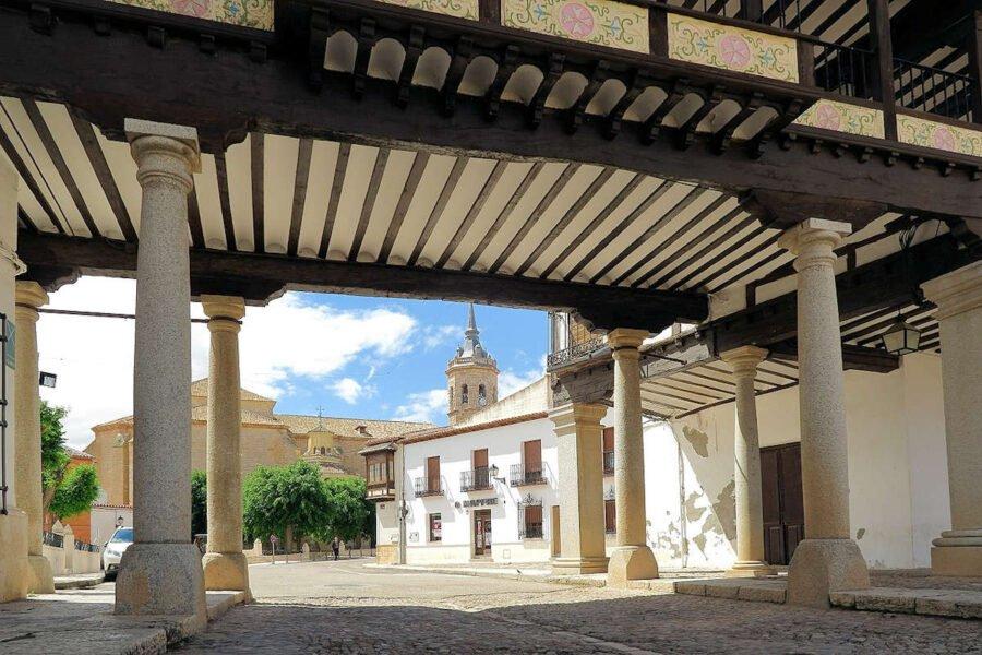 Entrada a la Plaza Mayor