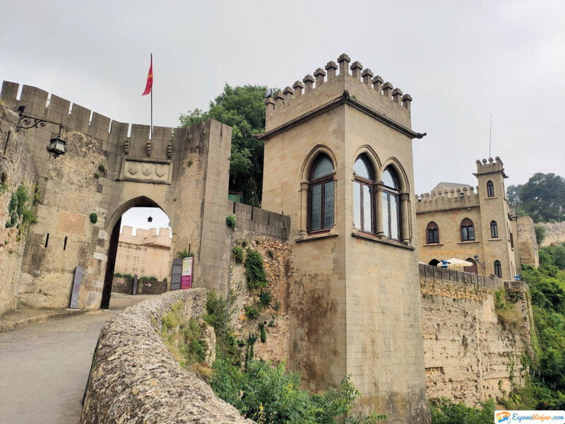 Entrada al Castillo de Xátiva
