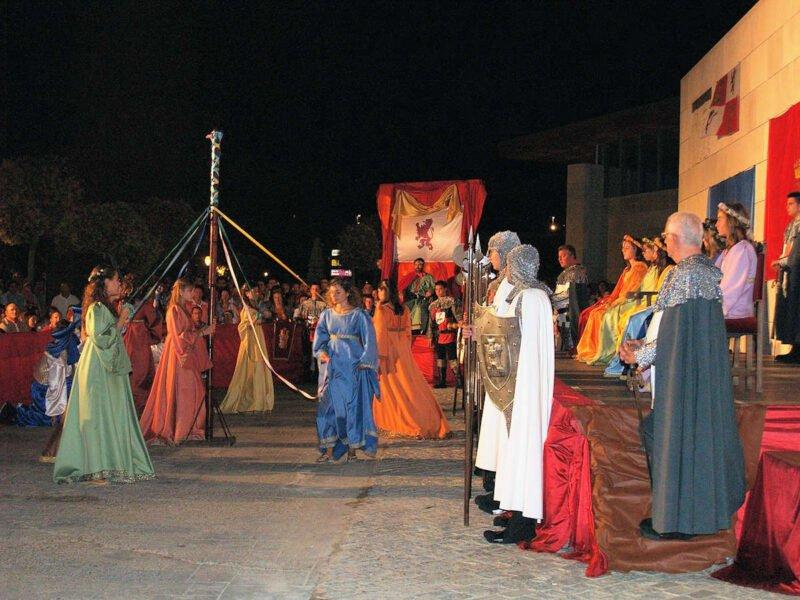 Festividades en Simancas