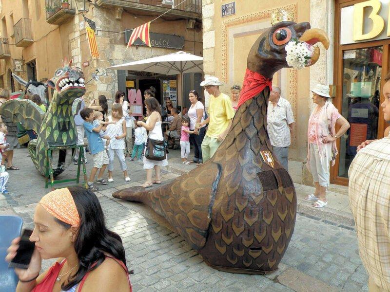 Fiestas en Montblanc
