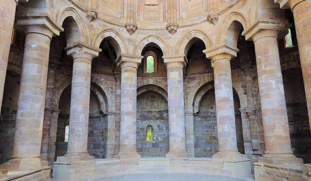 Girola de la iglesia del monasterio de Santa María de Moreruela