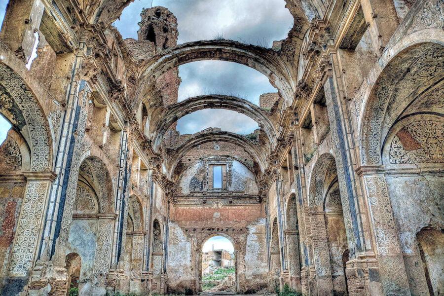Iglesia de Belchite viejo
