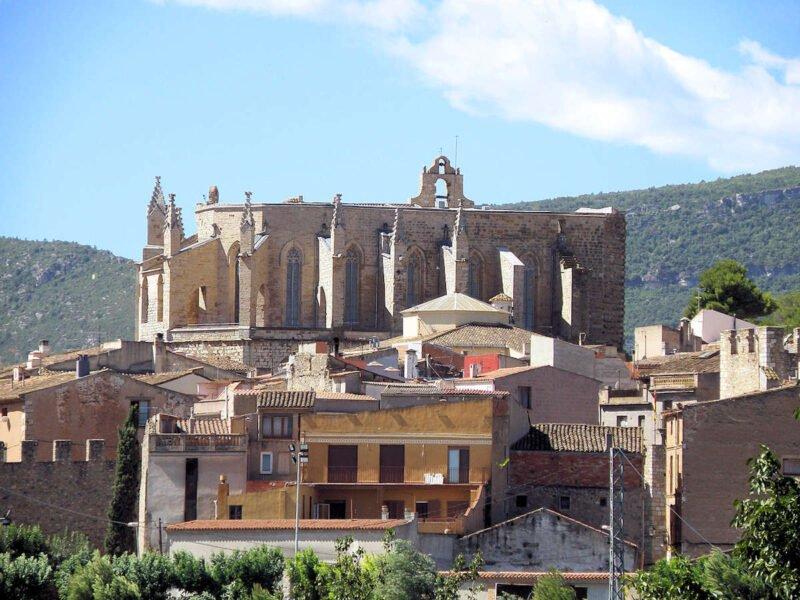 Iglesia de Santa María en Montblanc