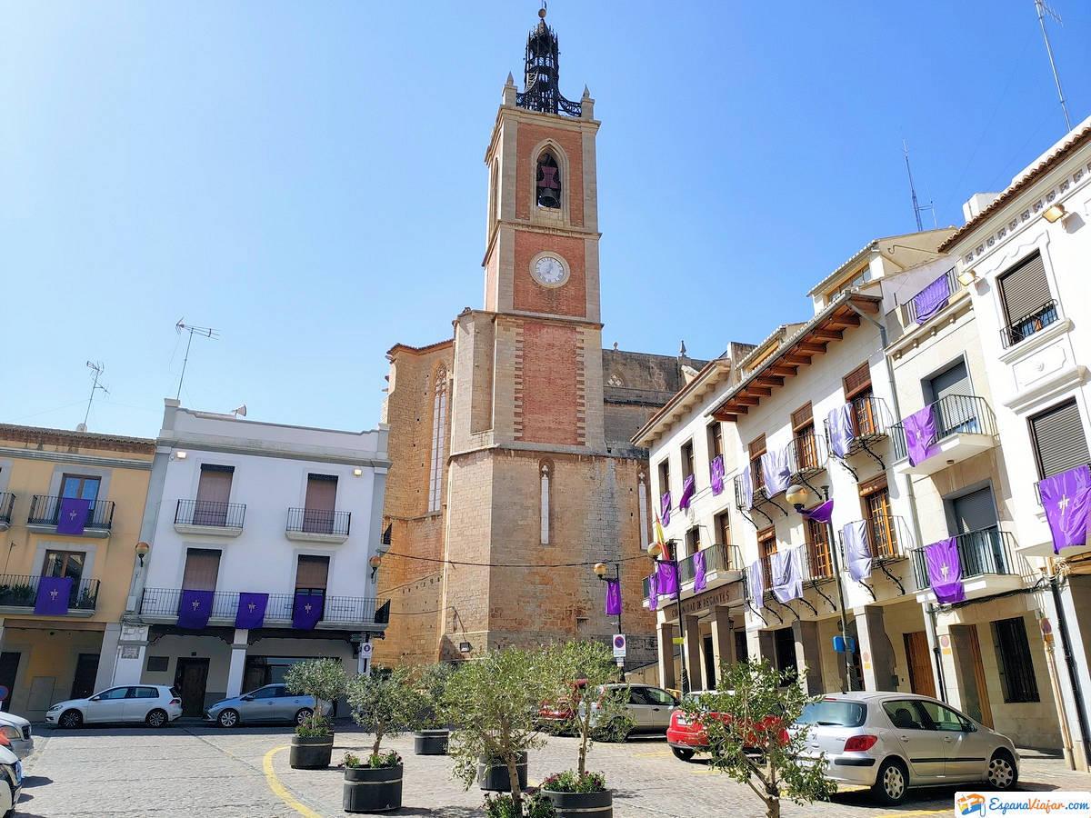 Iglesia-Santa -Maria-Sagunto-Valencia