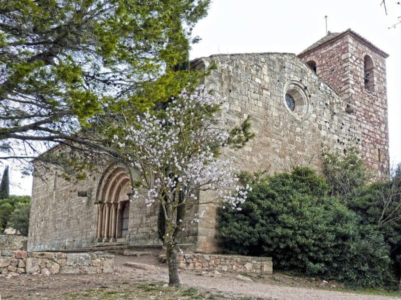 Iglesia de Santa María en Siurana