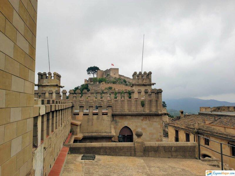 Interior Castillo de Xátiva