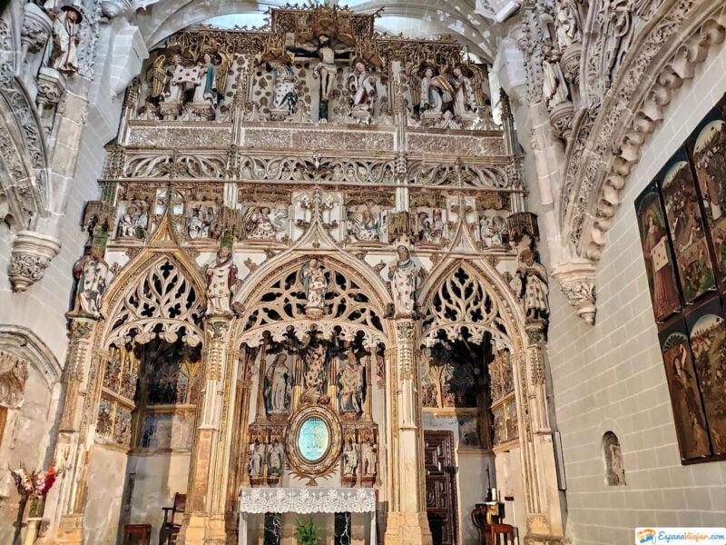 Interior Colegiata de Santa María de los Sagrados Corporales