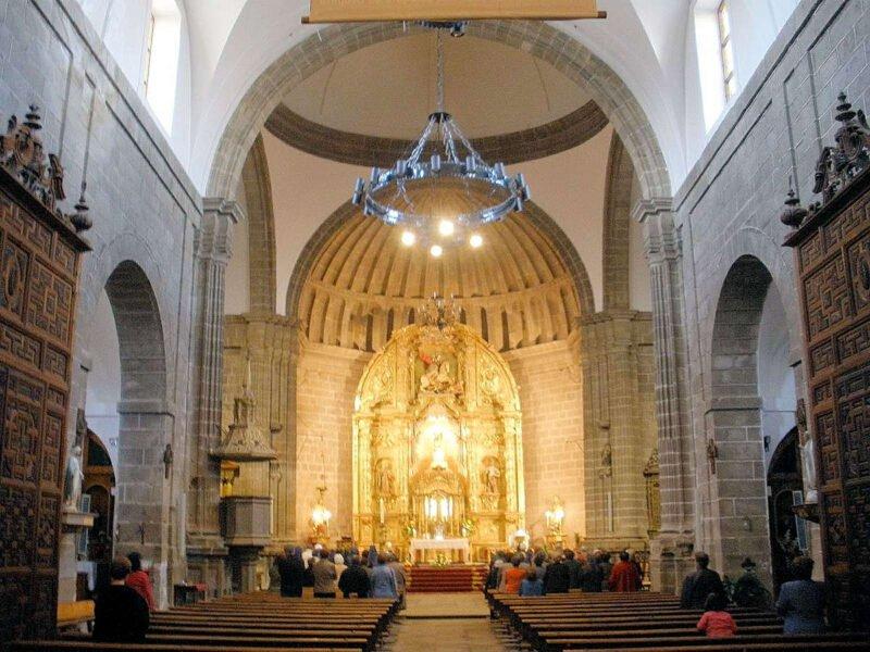 Interior Iglesia de Nuestra Señora de la Asunción