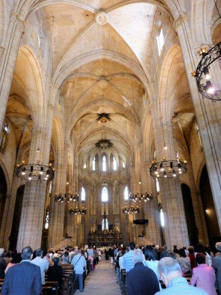 Interior de Catedral de la Asunción de Santa María