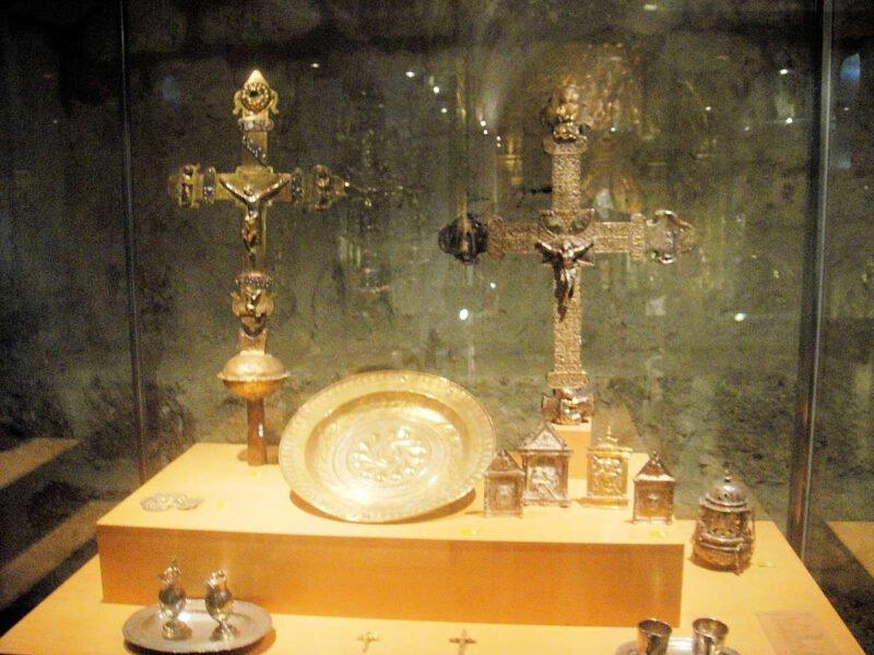 Orfebrería en el Museo de Arte Sacro de Peñafiel