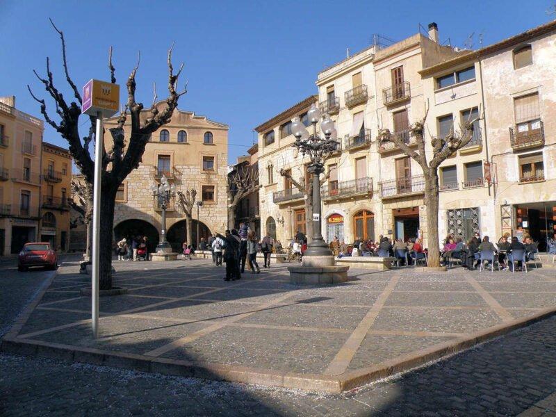 Plaza Mayor de Montblanc
