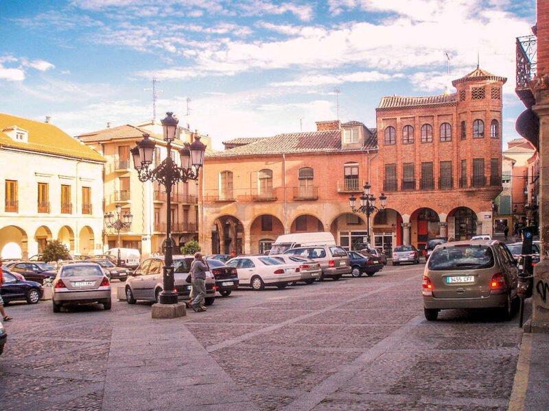 Plaza del Ayuntamiento de Benavente