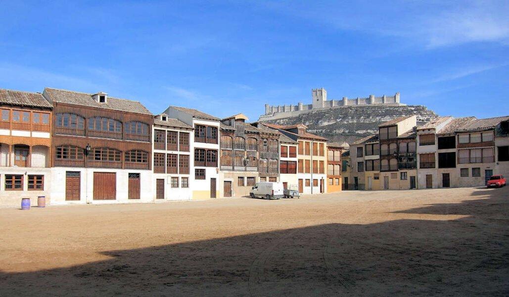 Plaza del Coso en Peñafiel