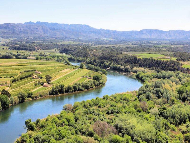 Río Ebro en Miravet