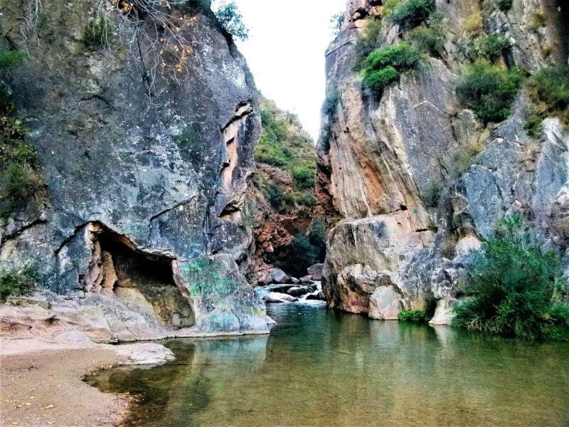 Ruta del agua en Chelva
