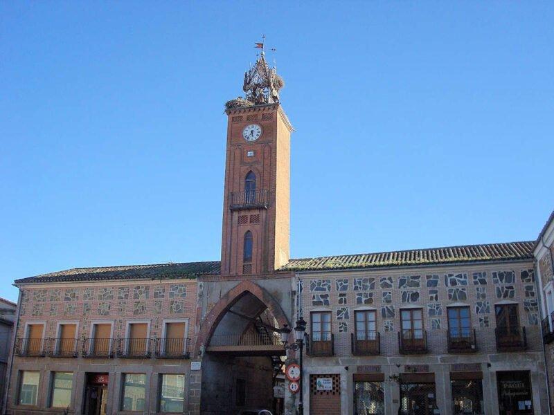 Torre del Reloj en Oropesa