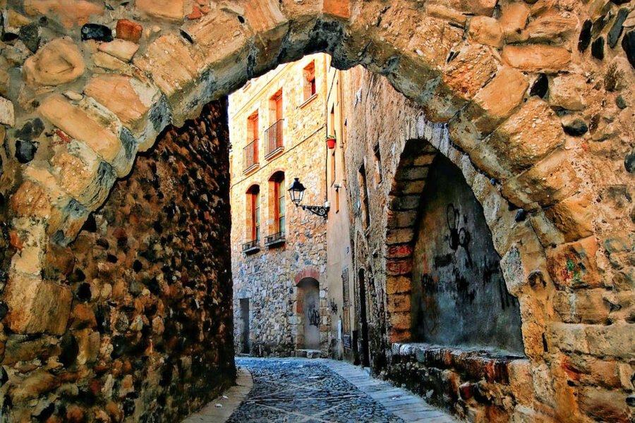 Visita Montblanc en Tarragona