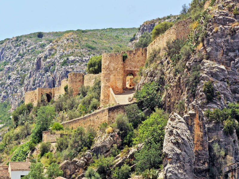 Vistas del Castillo de Chulilla