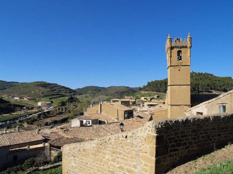Vistas desde el Castillo de la Peña