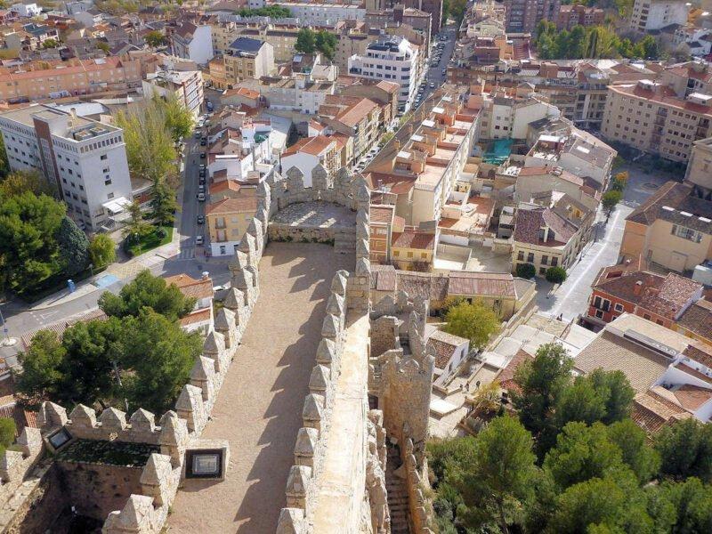 Almansa desde el Castillo