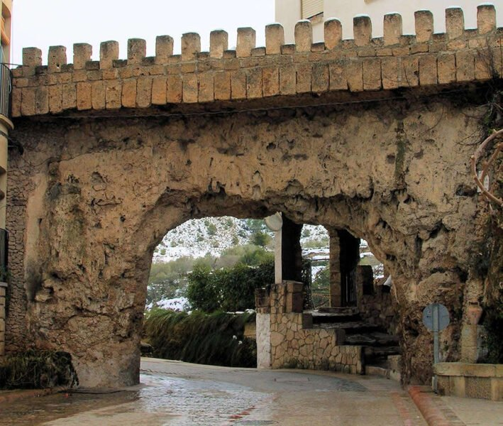 Arco de las Moreras