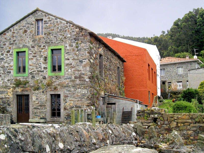 Casas en San Andrés de Teixido