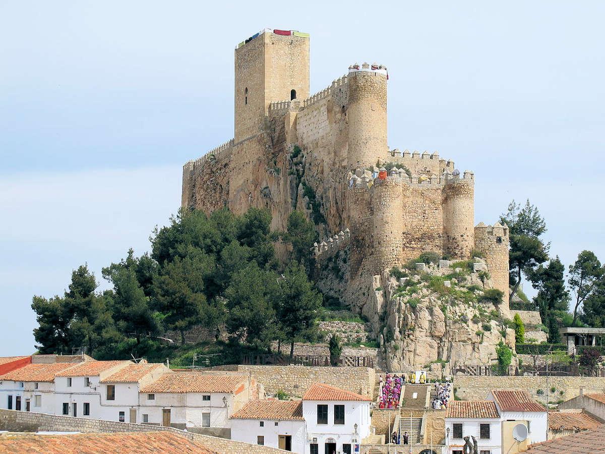 Castillo-de-Almansa-Albacete
