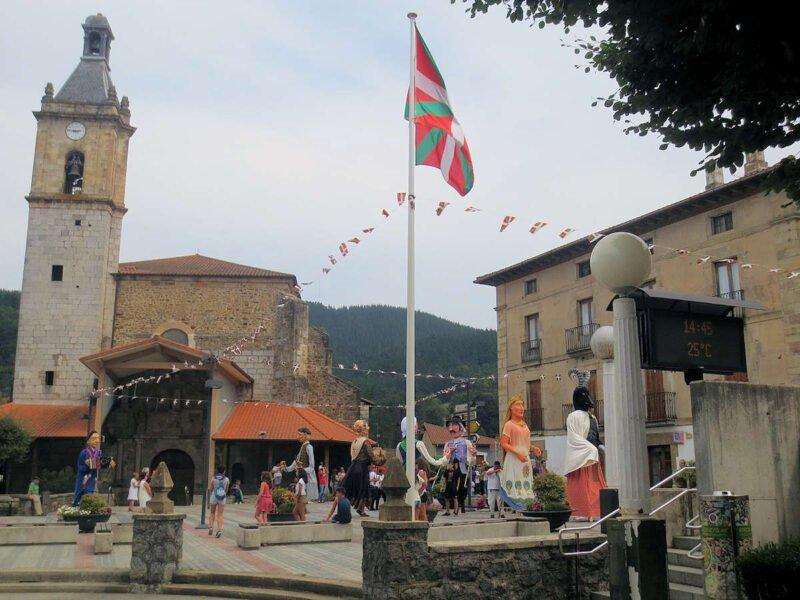 Festividades en Areatza