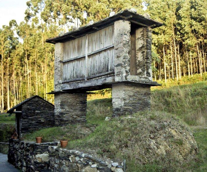 Hórreo en Ortigueira