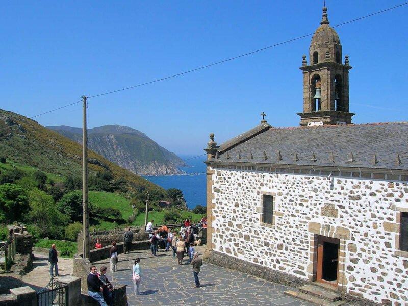 Iglesia de San Andrés de Teixido en Cedeira