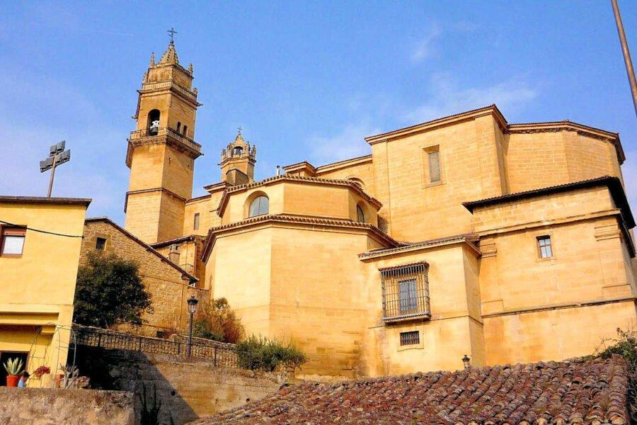 Iglesia de San Andrés en Elciego