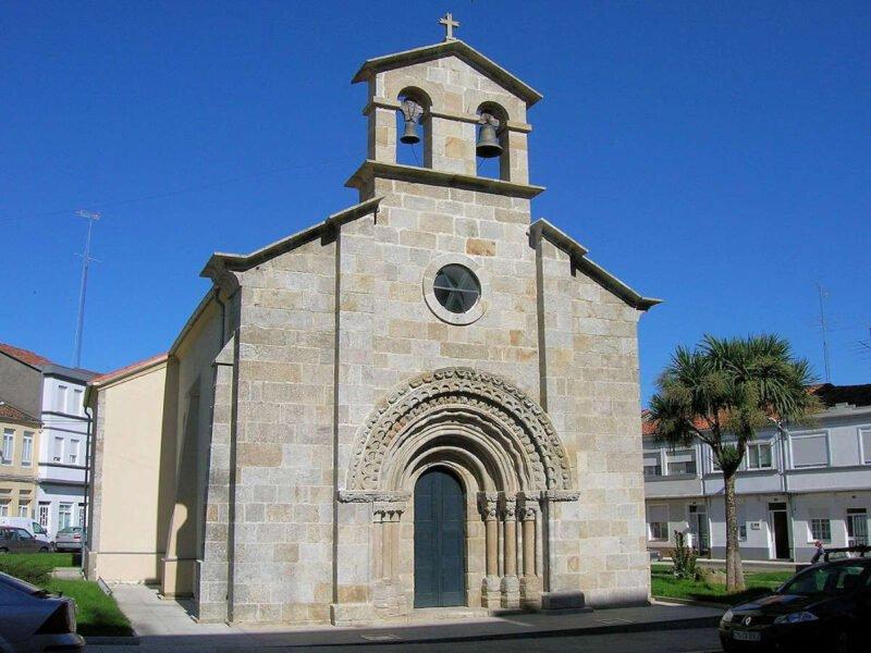 Iglesia de San Roque en Melide