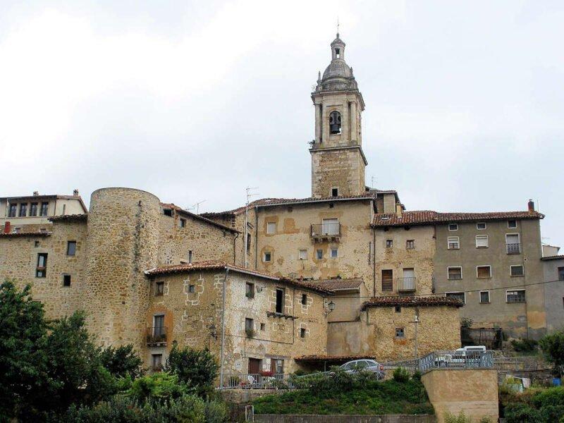 Iglesia de San Vicente Mártir en Antoñana