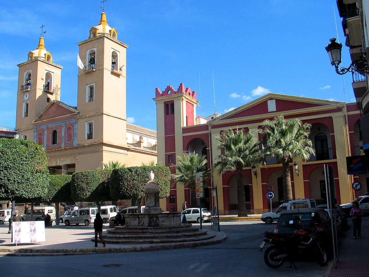 Berja-Almeria-Iglesia Parroquial-Ayuntamiento