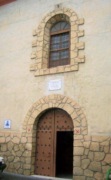 Parroquia de la Pusísima en Nerpio