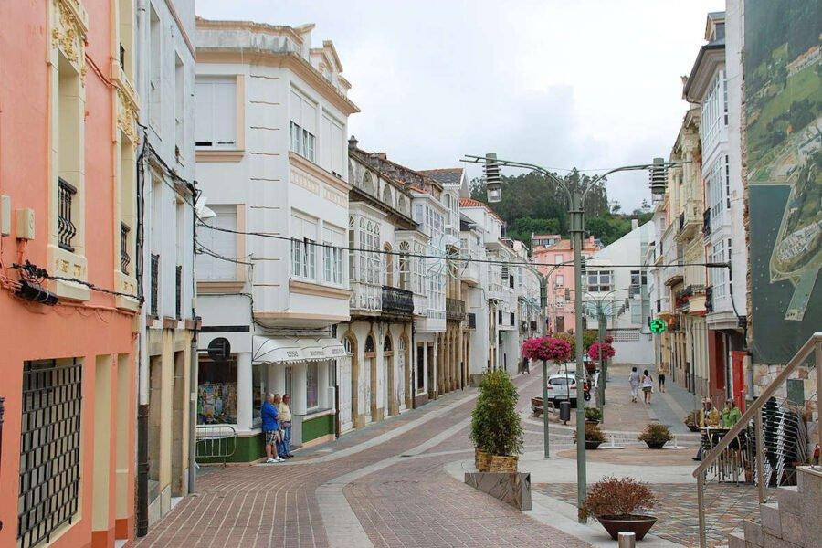 Paseo Eusebio en Ortigueira